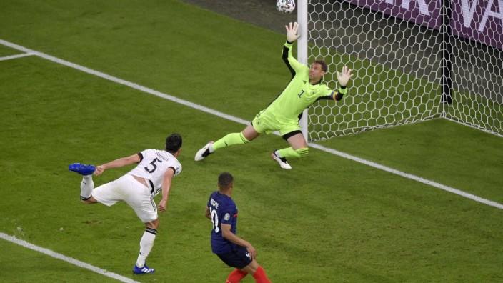 Sport Bilder des Tages 15.06.2021, Fussball, Europameisterschaft 2020, Gruppenspiel Gruppe F, Frankreich - Deutschland,