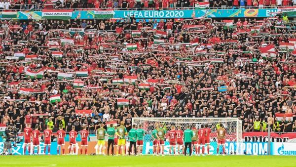 Fußball EM - Ungarn - Portugal