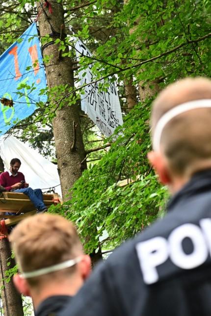 Protestcamp Forst Kasten