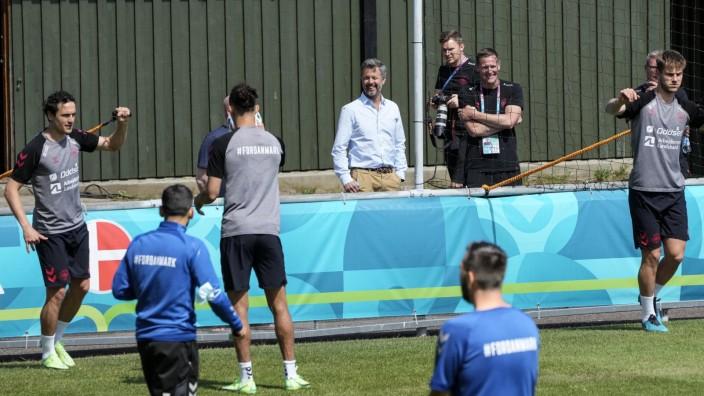 Fußball EM · Training Dänemark