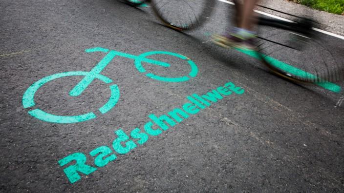 Erster Radschnellweg in Baden-Württemberg