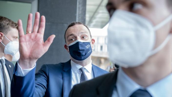 Coronavirus in Deutschland: Pressekonferenz mit Gesundheitsminister Jens Spahn