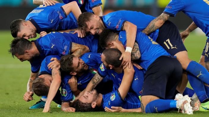 EM 2021: Italien läuft das Herz über - Sport - SZ.de