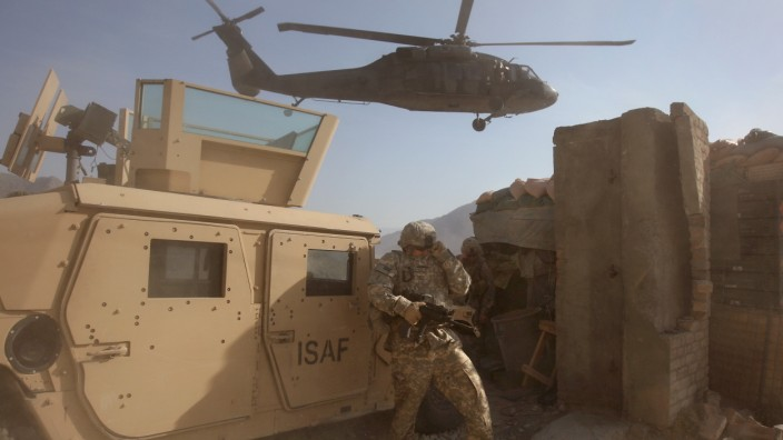 U.S. Army Battles Taliban In Kunar Province