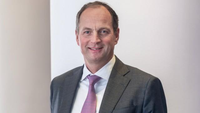 Matthias Schellenberg Vorsitzender des Vorstands bei Merck Finck Privatbankiers in München. München Bayern Deutschland