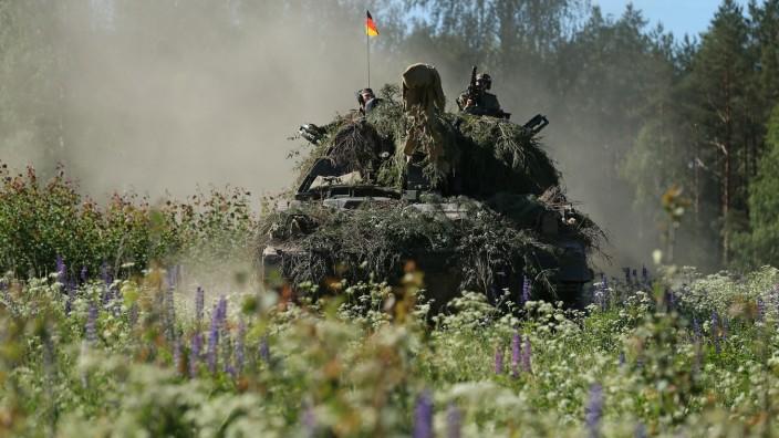Bundeswehr: Militärübung in Litauen