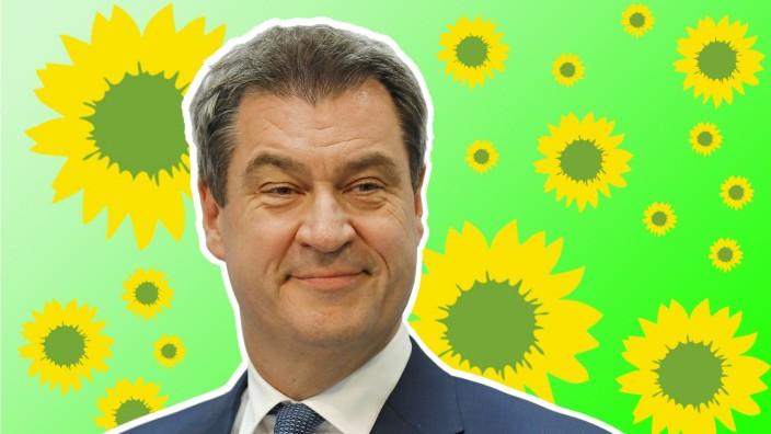 Dr Markus Söder CSU Parteivorsitzender und bayerischer Ministerpräsident Deutschland Berlin K