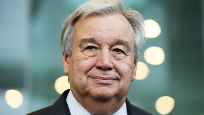 United Nations Secretary-General Antonio Guterres Visits New Zealand; Niklas Kolorz