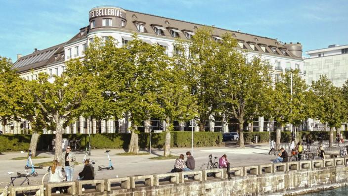 PressebilderFotos des neuen Ameron-Hotels Bellerive au Lac in Zürich