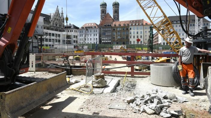 Baustellenbesichtigung: S-Bahn München, 2021