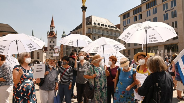 München ist bunt.Gegen Judenhass .