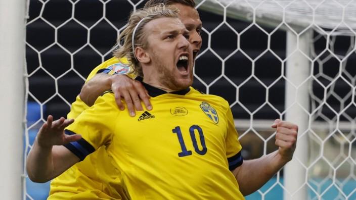 Fußball EM - Schweden - Slowakei