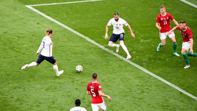07 ANTOINE GRIEZMANN (FRA) - BUT FOOTBALL : Hongrie vs France - UEFA EURO, EM, Europameisterschaft,Fussball 2020 - 19/0