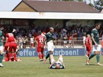 19.06.2021, Fussball, Qualifikationsrunde, 2020-2021, zum Aufstieg in die 3 Liga, Rueckspiel, TSV Havelse - 1.FC Schwein