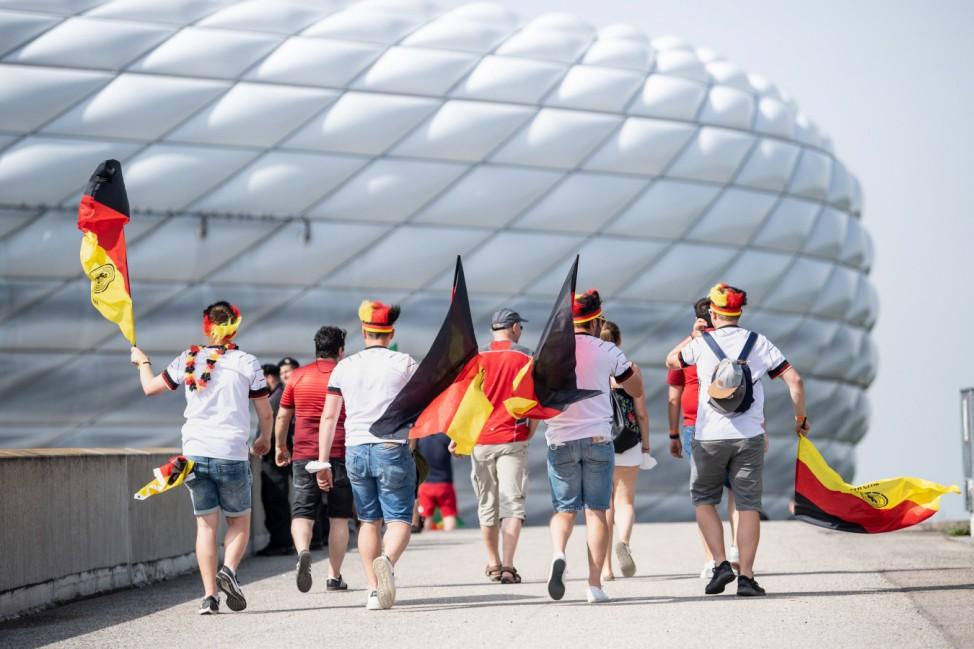 Fußball EM - Vor dem Spiel Portugal - Deutschland