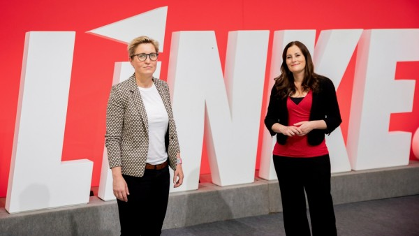 Convent of the left-wing party 'Die Linke' in Berlin