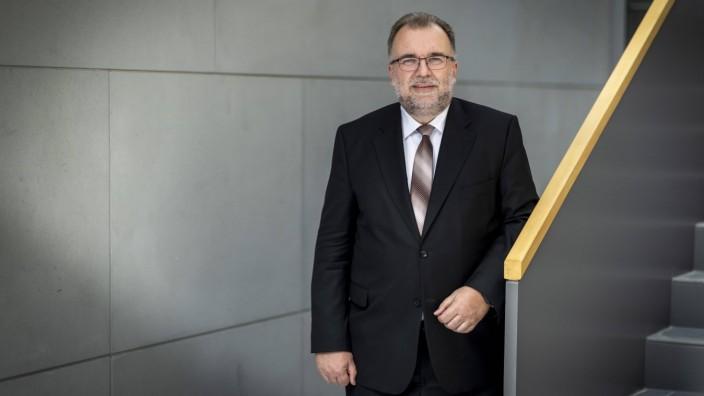 Siegfried Russwurm, Praesident des Bundesverbandes der Deutschen Industrie BDI, aufgenommen im Haus der Deutschen Wirtsc