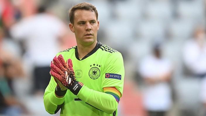 EM 2021: Manuel Neuer im Spiel gegen Portugal.