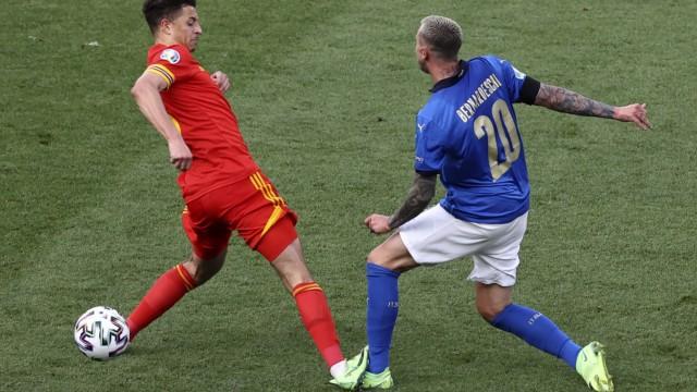 Fußball EM - Italien - Wales