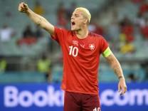 Fußball EM - Schweiz - Türkei