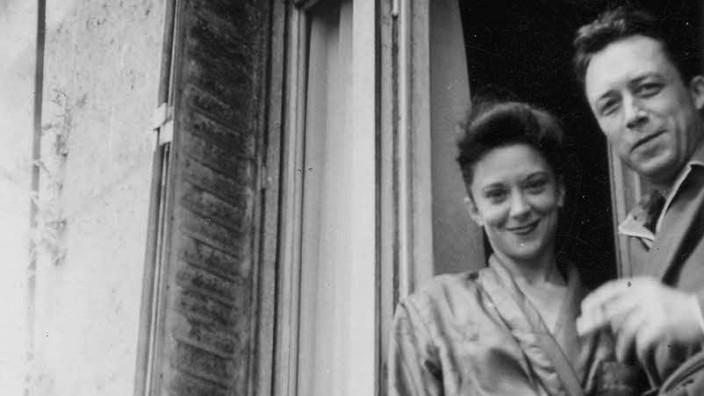 Albert Camus und Maria Casares - nur für Rezension !