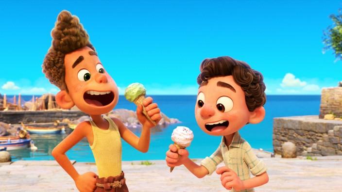 Luca Film Pixar Italien