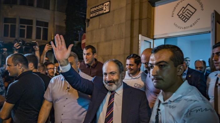 Nach den Wahlen in Armenien - Nikol Paschinjan