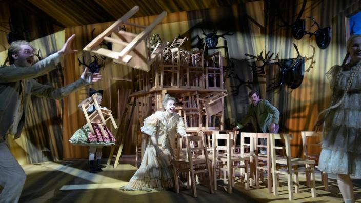 Der Theater#macher - PROBENFOTO