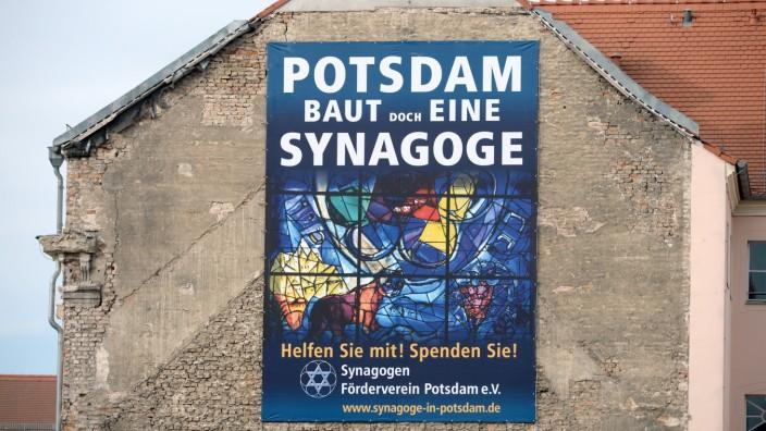 Bauplatz für Synagoge