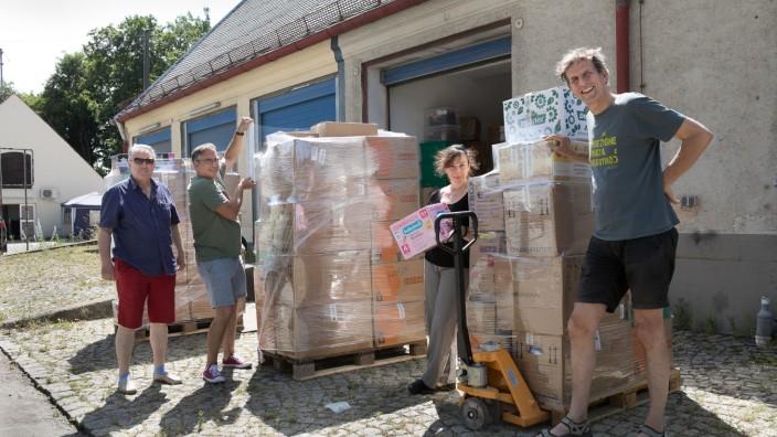 Hilfstransport nach Lesbos
