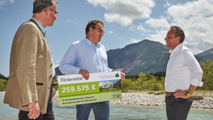 Modellprojekt Besucherlenkung Alpen