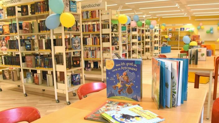 Bibliothek: Die neu gestaltete Kinder- und Jugendabteilung der Bibliothek, die nun mit Hilfe des Preisgelds zusätzlich ausgestattet werden kann.