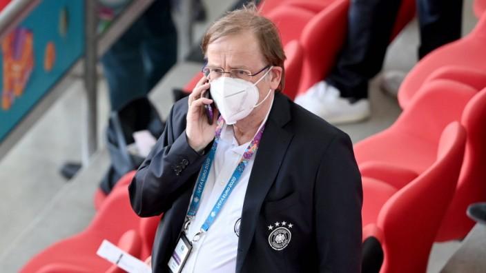 DFB Interims Präsident Rainer Koch 19.06.2021, Fussball Europameisterschaft 2021, Vorrunde, 2. Spieltag, Gruppe F, Portu
