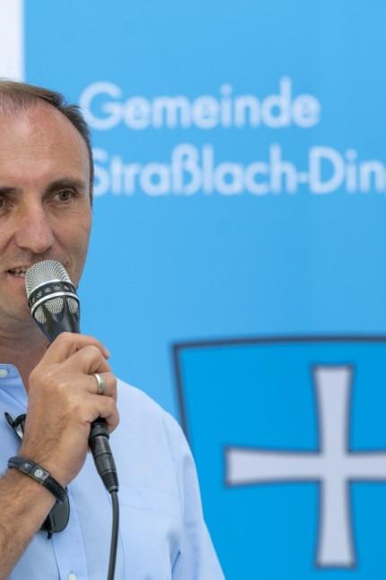 NS-Diktatur: Bürgermeister Hans Sienerth erzählt bei der Eröffnung eine bewegende Anekdote, die zeigt, mit wie viel Courage die jungen Widerstandskämpfer dem NS-Regime die Stirn boten.