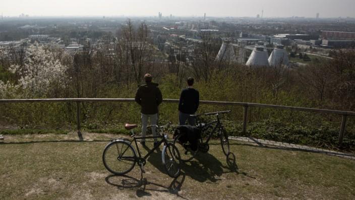 Blick auf München vom Fröttmaninger Berg, 2019