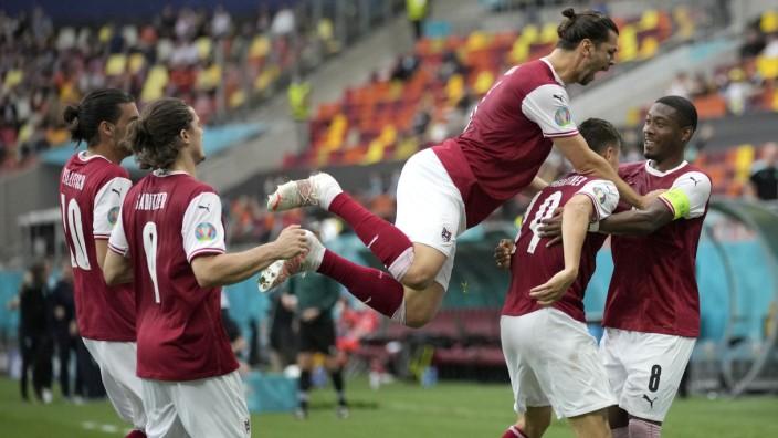 Fußball EM - Ukraine - Österreich