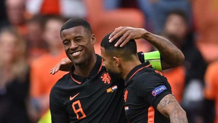 Fußball EM - Nordmazedonien - Niederlande