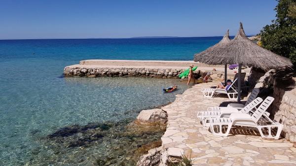 Insel Pag, Kroatien. Datum 4. Juni