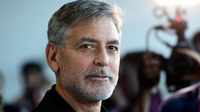 Hollywood-Star Clooney