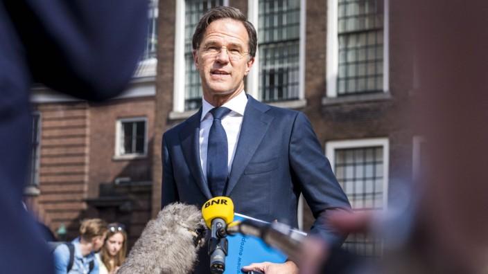 Niederlande: Hat Vertrauen verloren: Premier Mark Rutte.
