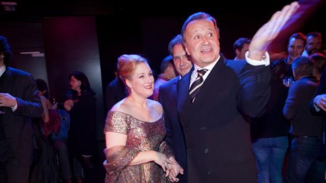 """Opernpremiere von Donizettis """"Lucia di Lammermoor"""" in München, 2015"""