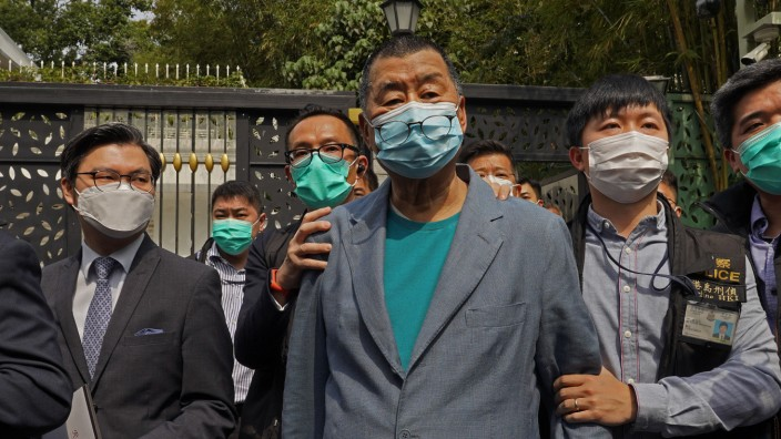 Hongkong - Mitglieder der Demokratiebewegung festgenommen