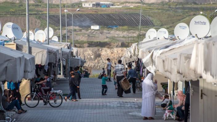 Bilder des Tages Flüchtlingslager im türkischen Nizip August 7 2017 Nizip Gaziantep Turkey Sy