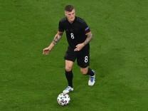 Fussball, Herren, Saison 2020/21, Euro 2020, Gruppe F (3. Spieltag) in München, Deutschland - Ungarn, Toni Kroos (Deutsc