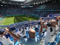 UEFA European Football Championship Euro 2020 Saint Petersburg Stadium.Group stage - Group B. Finland - Russia. A Finlan