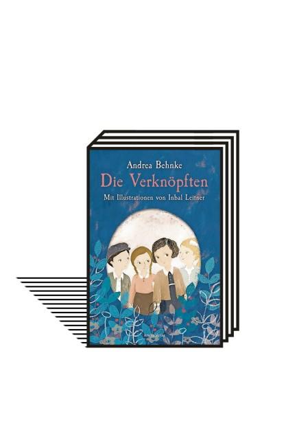 Kinderbuch: Andrea Behnke: Die Verknöpften. Mit Illustrationen von Inbal Leitner. Ariella Verlag, Berlin 2021. 14,95 Euro.