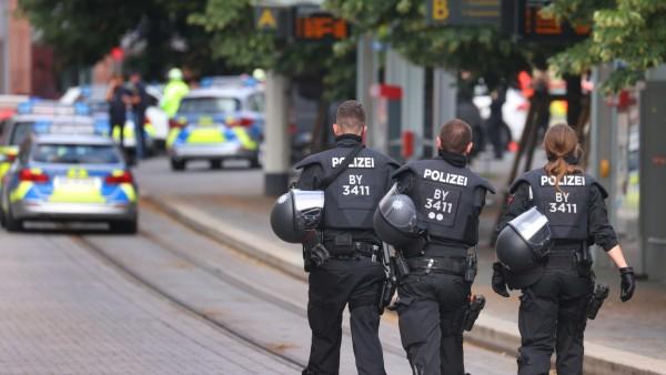 Messerattacke in Würzburger Innenstadt