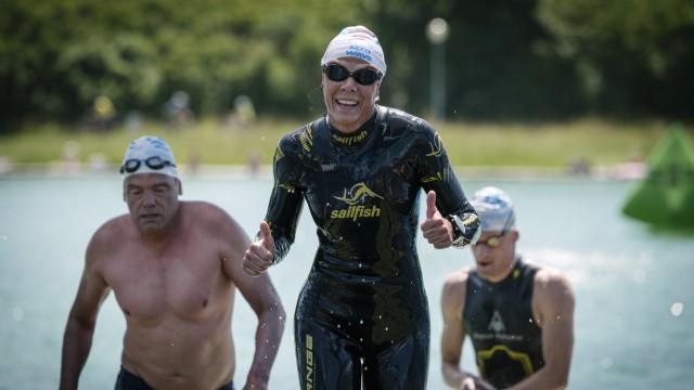 12tes Langstrecken Schwimmen im Regattabecken in Oberschleißheim