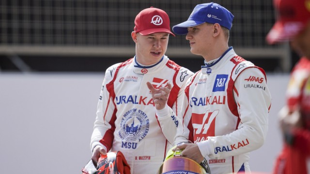 Formel 1 - Mick Schumacher und Nikita Masepin