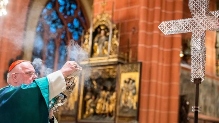 """Das Rücktrittsgesuch von Kardinal Reinhard Marx (Foto) nennt Kirchenrechtler Lüdecke eine """"ziemlich ambivalente Geschichte""""."""